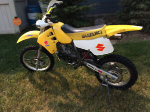 Suzuki RM 80 punched to 100cc