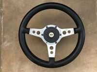 Astrali Synthetic Leather Covered Steering Wheel