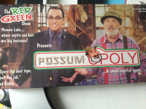 Possum Poly board game - The Red Green show never opened