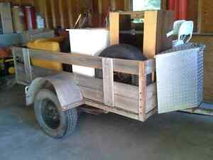 "8x4 trailer with 14"" wheels"