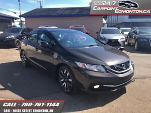 2013 Honda Civic Sedan TOURING...ONE OWNER...NO ACCIDENTS  - Loc