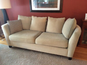 Upton couch and loveseat