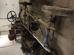 1931 Ford Model A rolling chassis.