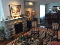 Beautifully furnished home in the heart of Montreal for sublet