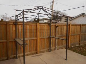 Grill Gazebo 8 x 5 ( FRAME ONLY- NO CANOPY )