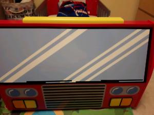 Firetruck Toddler Bed