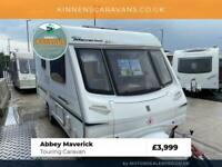Abbey Maverick - 2 Berth Touring Caravan