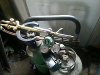 Victor Oxy Propane Cutting Torches With Tanks