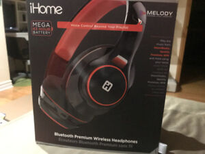 Ihome MELODY wireless head phones unopened