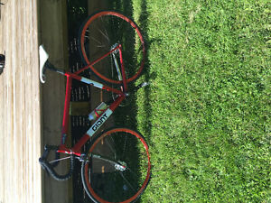 Giant fixed gear road bikeGiant fixed gear road bike with carbon