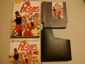 Nintendo NES video game Hoops with box and manual$15