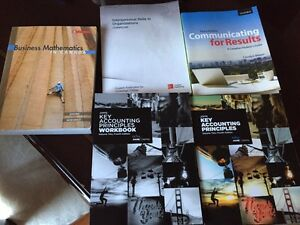 Conestoga College Business and Accounting Textbooks