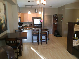 Secure top floor, upgraded & furnished executive condo