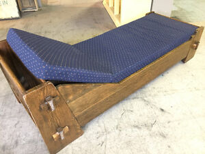 Chaise Solid Wood - reduced $100