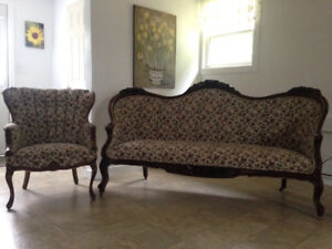 Provincial couch and chair