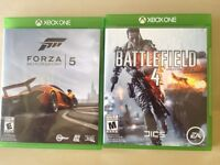 Battlefield 4 and forza 5 trade for FIFA 2014 and 2K14