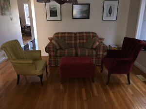 Apartment or small house living room suite