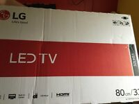 Brand New LG 32 inch in the box TV (x2 available)