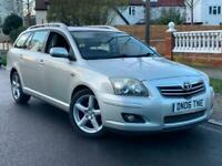 2006/06 REG TOYOTA AVENSIS T180 2.2 D-4D ESTATE ** 15 SERV STAMPS + HIGH SPEC **
