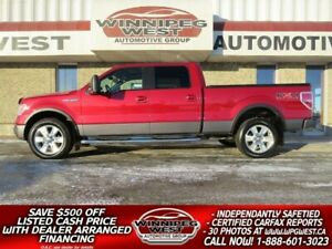 2009 Ford F-150 FX4 CREW 4X4, LOADED, 1 OWNER LOCAL, FLAWLESS