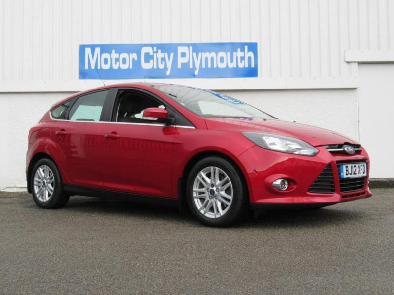 2012 ford focus titanium hatchback petrol in plymouth devon gumtree. Black Bedroom Furniture Sets. Home Design Ideas
