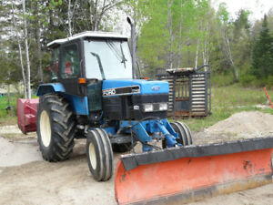 tracteur Ford 7740