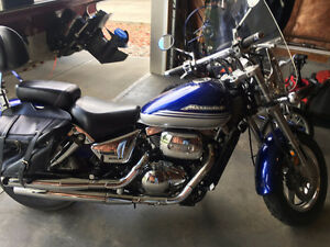 2002 MARAUDER 800 WITH BAGS & SHIELD  EXE COND