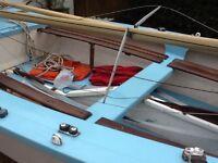 Wayfarer sailing dinghy
