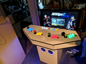 Competition 4 player Arcade Pedistal System for sale!
