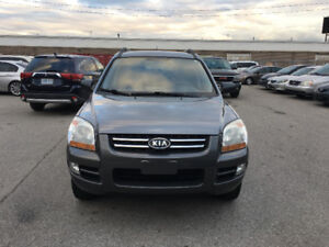 2008 Kia Sportage. CERTIFIED, E TESTED, WARRANTY, NO ACCIDENT