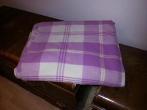 Genuine Wool Blanket twin size