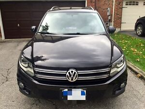 2012 Volkswagen Tiguan Comfortline Leather