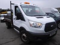 FORD TRANSIT 350 DIESEL TWIN WHEEL TIPPER White Manual Diesel, 2014