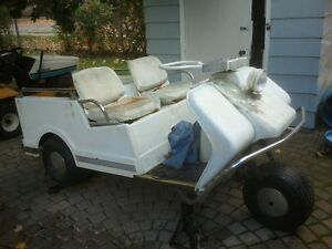 Harley Davidson gas golf cart