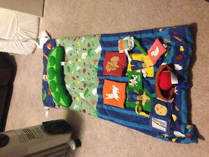 Infantino shopping cart cover/playmat