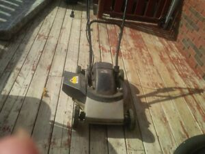 3one convertible electric lawn mower