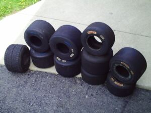 Used Assorted Go kart Tires