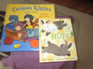 2 Fun Board books - Curious Kittens and Hop
