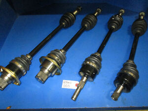 YAMAHA RHINO 660 CV AXLES FULL SET ALL AROUND BRAND NEW HD 04-07