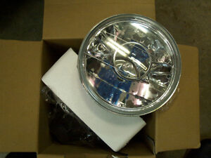"""PAIR 7"""" Projector Clear Lens Headlights Round w/ H4 London Ontario image 3"""