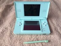 Turquoise Nintendo DS lite for sale