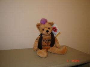 Collectible Hard Rock Cafe Teddy Bear - with tags London Ontario image 4