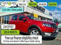 2015 Dacia Sandero Stepway 0.9 LAUREATE TCE 5d 90 BHP Hatchback Petrol Manual