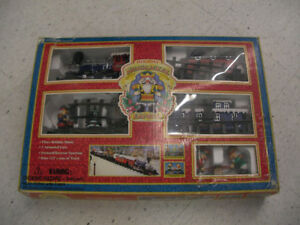 Vintage Holiday Nutcracker Express Christmas Train Set