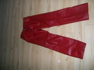 Shediac:  Three pairs of leather pants for sale