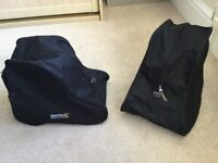 Walking boot bags-two bags