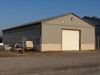 Storage Building for Lease 2560 sq. ft. - near Glencoe, Ontario