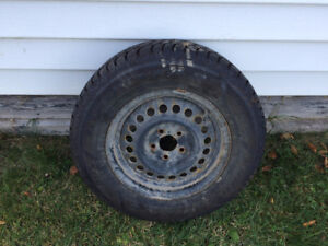 Goodyear Nordic Winter Tires with Steel Rims - 14Inch