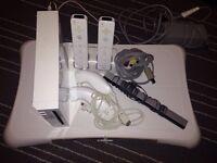 Wii+Wii fit board