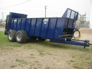 New 22 JBS Manure Spreaders - Available with Silage Extensions